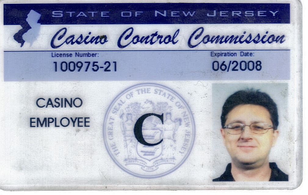 NJ Casino Control Commission Gaming License